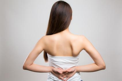 acné dans le dos