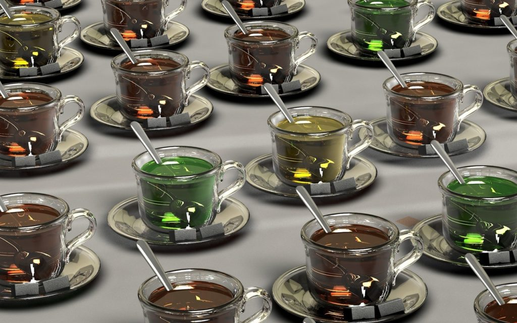 variétés thés verts
