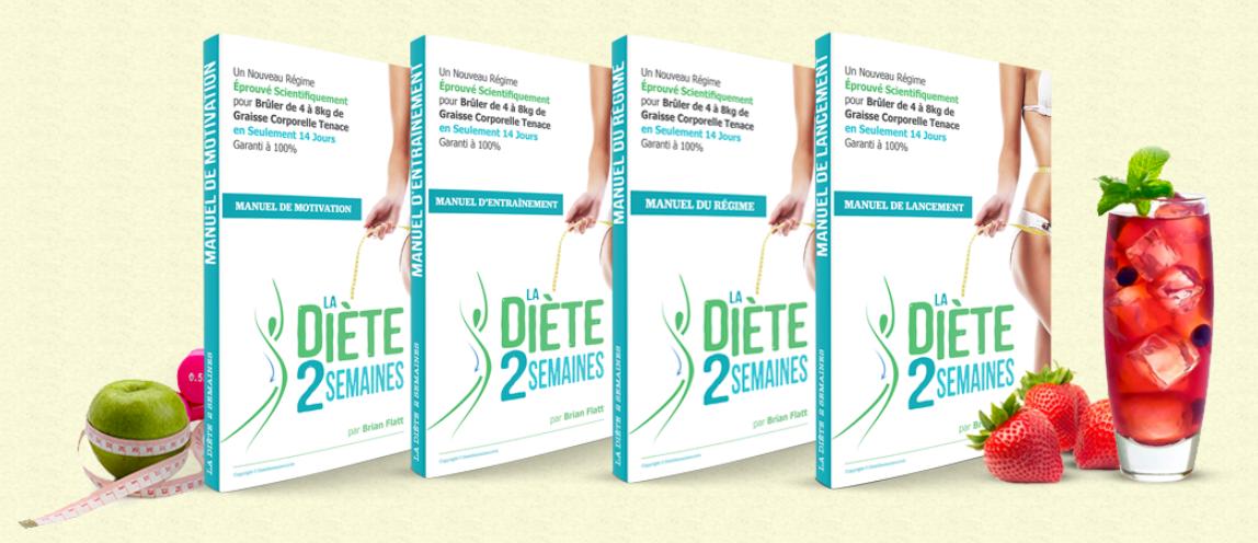 La diète 2 semaines – Perdez 4 à 8 kilos de graisse en seulement 14 jours !