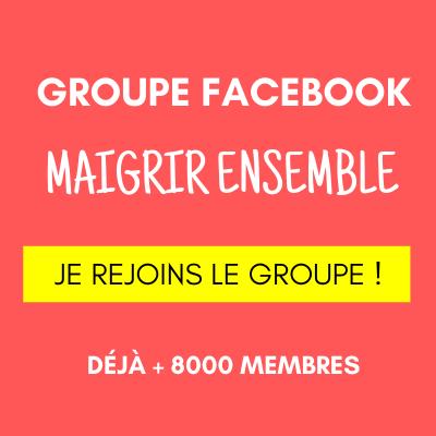 groupe facebook maigrir ensemble